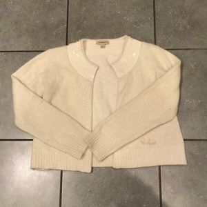 Burberry sparkly sweater